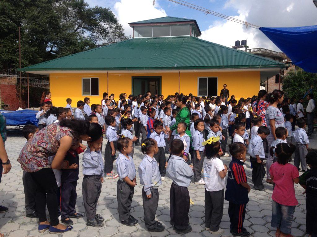 Construction d'une école maternelle